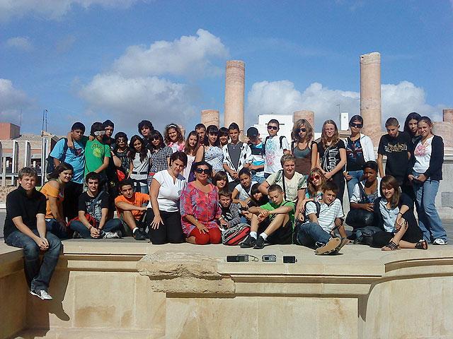 Los jóvenes de Villard Bonnot dejan huella en Mazarrón - 1, Foto 1