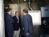 El Ayuntamiento de Molina de Segura instala la primera caldera de biomasa para una piscina municipal de la Región de Murcia