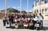 Puerto Lumbreras clausura la iniciativa educativa 'Un día con el pintor Pedro Cano'