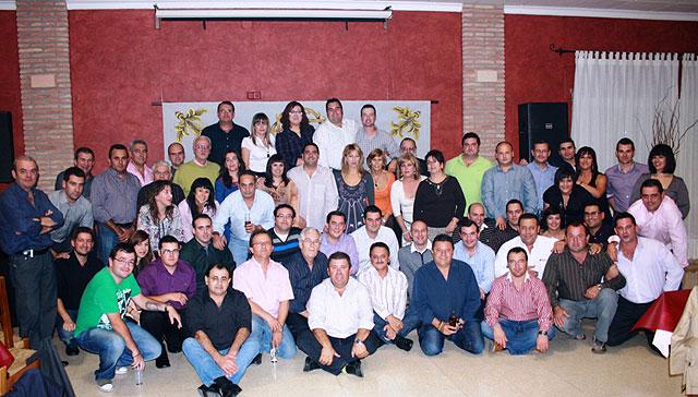 Cena-convivencia organizada por el Ilustre Cabildo Superior de Procesiones de Totana, Foto 1