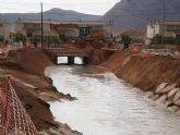 El Gobierno de España concluye el encauzamiento y acondicionamiento de la Rambla de San Cayetano de Torre-Pacheco