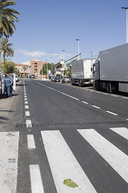 Renovada una de las principales vías del municipio - 1, Foto 1