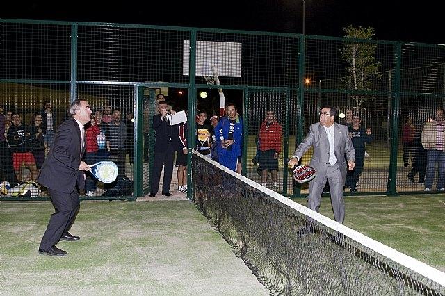 González Tovar y Francisco Blaya inauguran las nuevas instalaciones deportivas en Mazarrón - 1, Foto 1