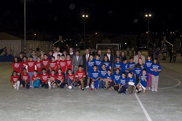 González Tovar y Francisco Blaya inauguran las nuevas instalaciones deportivas en Mazarrón - 2, Foto 2