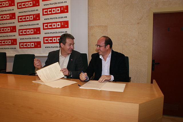 El Ayuntamiento firma un convenio de colaboración con Comisiones Obreras para poner en marcha programas de orientación y formación laboral - 3, Foto 3