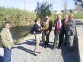 La CHS pone en marcha en Cieza un proyecto pionero para sustituir las cañas del río Segura por especies autóctonas