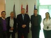 Encuentro Institucional entre el Alcalde de La Unión y el Secretario General de Comisiones Obreras de la Región de Murcia