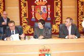 Mercedes Gallizo firma un convenio con el Ayuntamiento de Molina de Segura para el cumplimiento de Trabajos en Beneficio de la Comunidad