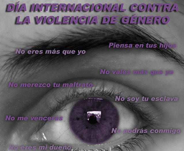 Mazarrón con el Día Internacional Contra la Violencia de Género - 1, Foto 1