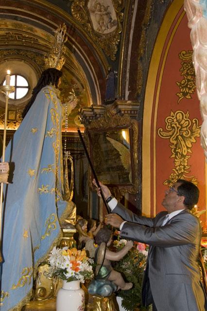 El alcalde renueva el voto a la patrona de Mazarrón - 2, Foto 2