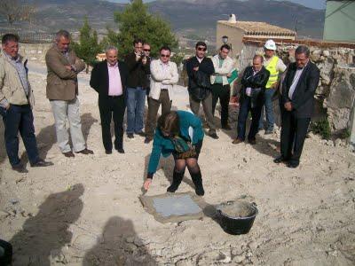 Inicio de las obras de La Soledad con la colocación de la 1ª piedra - 3, Foto 3