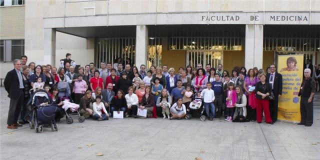 Members of the association PA.DI.SI.TO participate in the Fourth National Congress of Cornelia Delange, held in Zaragoza