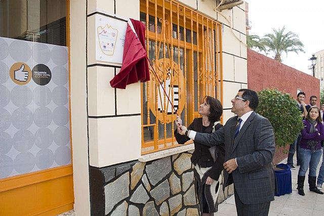 Blaya y García inauguran el centro de formación de Ciudad Digital - 1, Foto 1