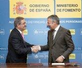 Blanco firma el convenio del 1% Cultural para la rehabilitación del Castillo de Moratalla