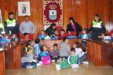 Los escolares del colegio José Antonio participan en un pleno infantil