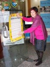 Archena también se adhiere a la defensa de los Derechos del Niño con la difusión de  carteles en tiendas y bares