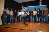 Fernández Lladó reelegido presidente del Partido Popular de Alguazas