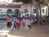 El colegio Virgen de Loreto celebra la carrera 'Kilómetros de Solidaridad' para recaudar fondos con destinos a los niños de Costa de Marfil