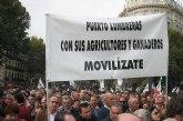 Más de 200 lumbrerenses acudieron a la Movilización Agraria en Madrid