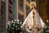 Una misa solemne conmemora la onomástica de la Patrona de Alcantarilla, la Virgen de la Salud