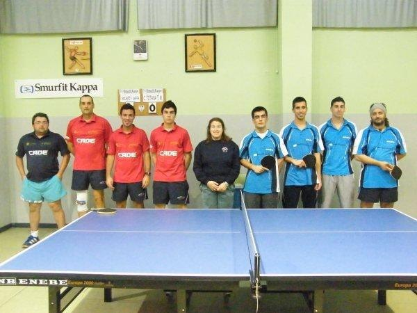 Day Totana round for Table Tennis Club with 5 wins from 5 games played by club teams this weekend