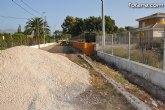 El Ayuntamiento acomete actuaciones de mejora de la red viaria municipal en un total de 18 kilómetros de caminos rurales de Totana durante el 2.009