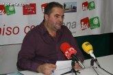 IU afirma que 'mientras Rajoy propone que las mesas de contratación estén presididas por miembros de la oposición, Martínez Andreo ha eliminado la presencia de la Oposición en la del Ayuntamiento de Totana'