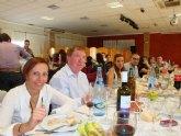 Comida inter-centros organizada con motivo de la celebración del Día del Maestro