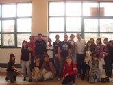 Jóvenes alguaceños asisten al encuentro regional del programa Nueve.e