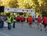 Gran carrera del atleta del Club de Atletismo Totana, Pedro A. Redondo en Madrid