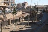 El paseo de la Avenida Rambla de La Santa comienza a transformar su imagen gracias a las obras de remodelación que se están ejecutando