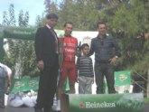 Jose Ángel Camacho, del CC Santa Eulalia, entre los primeros en la carrera del jamón (Alcantarilla)