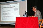 El Doctor Agustín Navarrete imparte en Alguazas una conferencia sobre el cáncer de colon