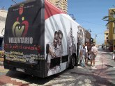 El bus de voluntariado regresa a Cartagena