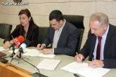 Las obras de construcción del nuevo Centro de Salud Totana-Sur posibilitarán la contratación de 62 personas desempleadas del municipio
