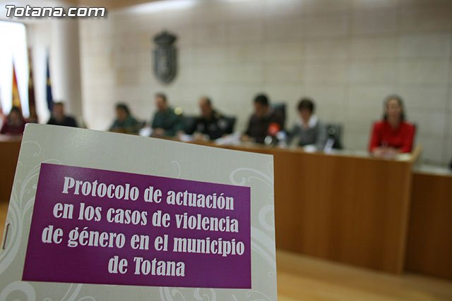 "The council introduced the ""Protocol of action in cases of gender violence in the town"""