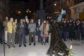 Cientos de mazarroneros homenajean a Josefa de la plaza