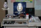 Operación policial contra la distribución de cocaína en Murcia.