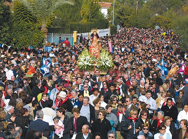Kick-off Festivities in honor of Totana Santa Eulalia
