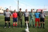 El RAAA de Cartagena golea al equipo almeriense, en el tradicional partido de fútbol amistoso
