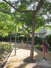 El Ayuntamiento realiza una renovación integral de tres jardines de La Alberca y Algezares