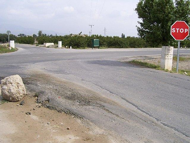Obras Públicas eliminará de un tramo de concentración de accidentes en Puerto Lumbreras - 1, Foto 1