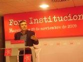 Saura insta a Valcárcel a preparar una estrategia común para el desarrollo de la Región ante la Conferencia de Presidentes