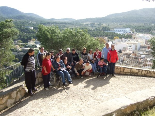 PA.DI.SI.TO conducts a weekend of respite care in the youth hostel in Biar, Alicante