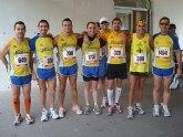 Gran papel de los atletas del Club Atletismo Totana en la media maratón de Benidorm