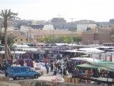 Unas 5.000 personas visitaron el mercadillo semanal del pasado sábado en su nuevo emplazamiento del Pago del Barranco