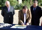 Colocada la primera piedra de futuro Jardín Botánico de Alcantarilla, junto al Museo de la Huerta