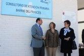 El consultorio del Barrio del Francés en Puerto Lumbreras dará  asistencia sanitaria a 2.500 personas