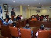 Visita de escolares al Ayuntamiento