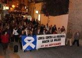 El Pleno del Ayuntamiento de Lorca muestra su solidaridad con las mujeres víctimas de violencia y con sus familias